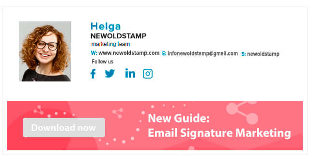 Email Signature Generator for your Company - NEWOLDSTAMP