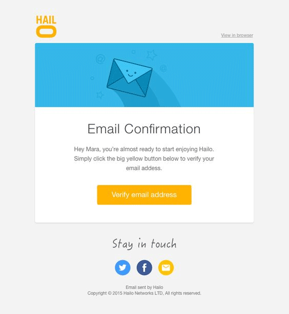 confirmation email 2