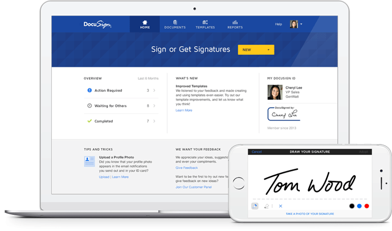 Docusign tool