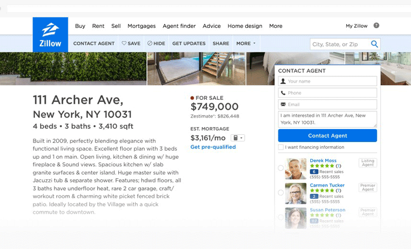 zillow tool