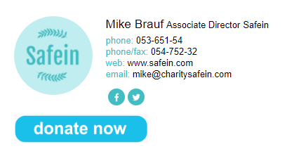 NEWOLDSTAMP  email signature example for nonprofit organizations