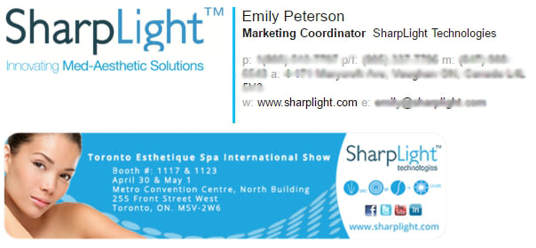 email signature for marketing coordinator 1ab