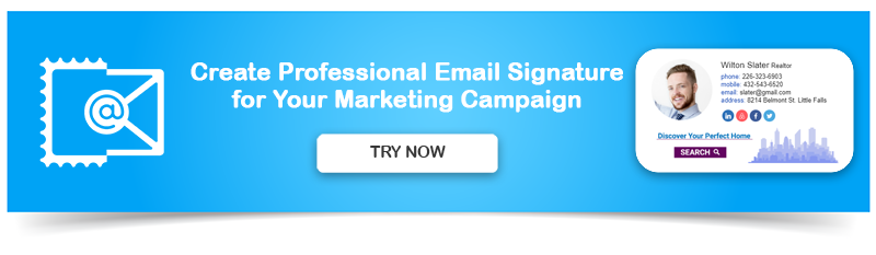 Create Professional Email Signature for Marketing Campaign
