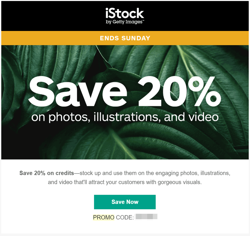 discount email promocode