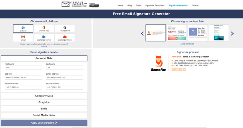 best email signature generators  how to choose what fits