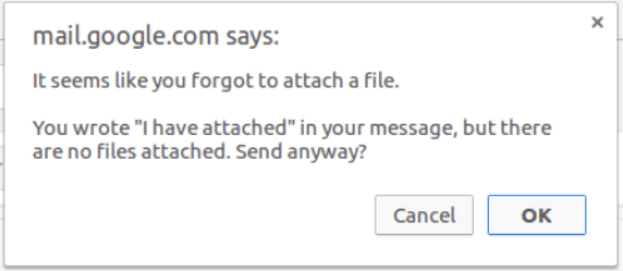 File attach reminder in Gmail