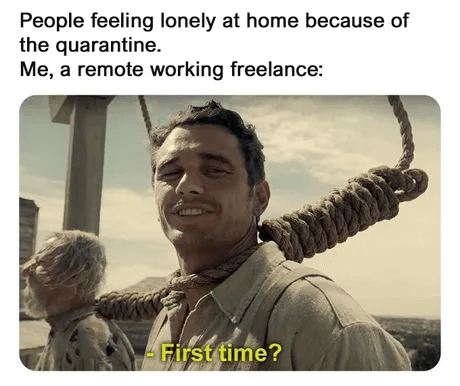 Working remotely is a new experience for many people