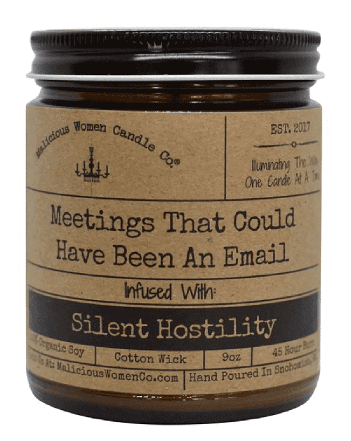 That meeting could have been an email