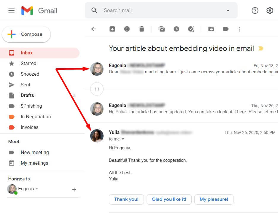 Adding a profile picture to Gmail