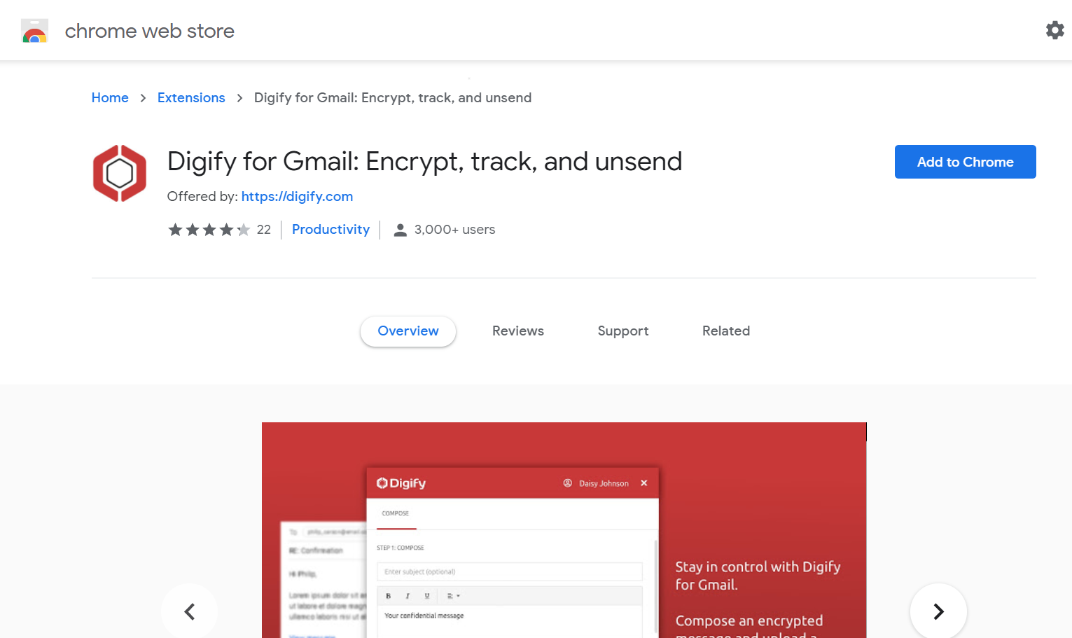 Digify for Gmail