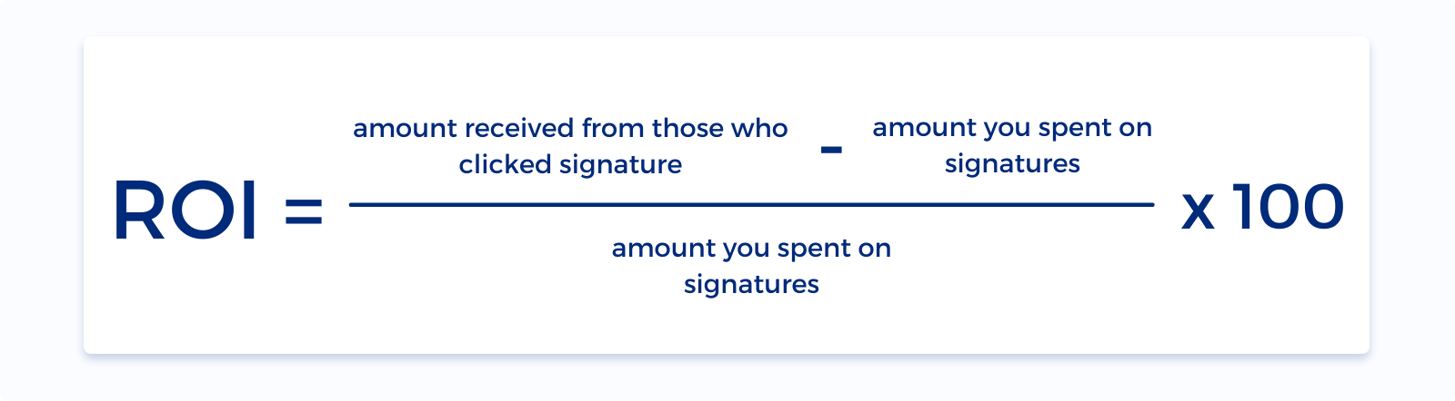 ROI of email signature marketing