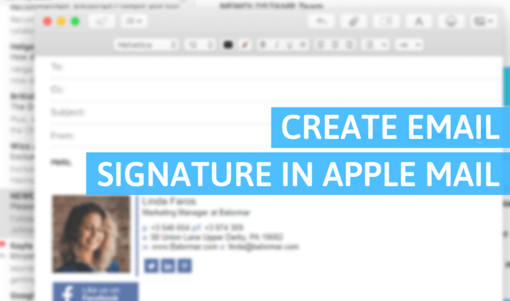 How Do I Create a Signature in Apple Mail?