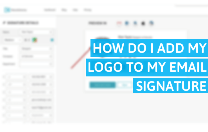 How Do I Add My Logo to My Email Signature