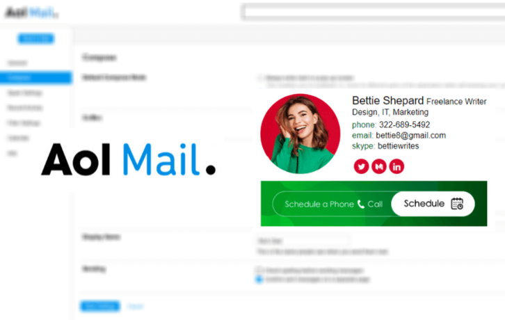 How to Set Up a Signature in AOL Mail