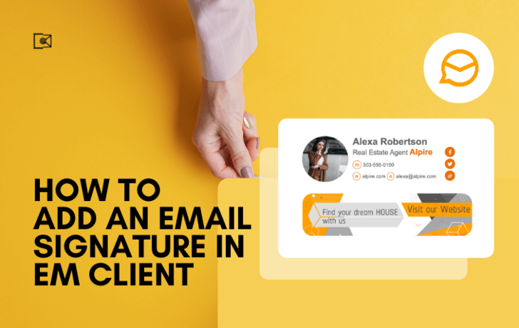 How to Add an Email Signature in eM Client