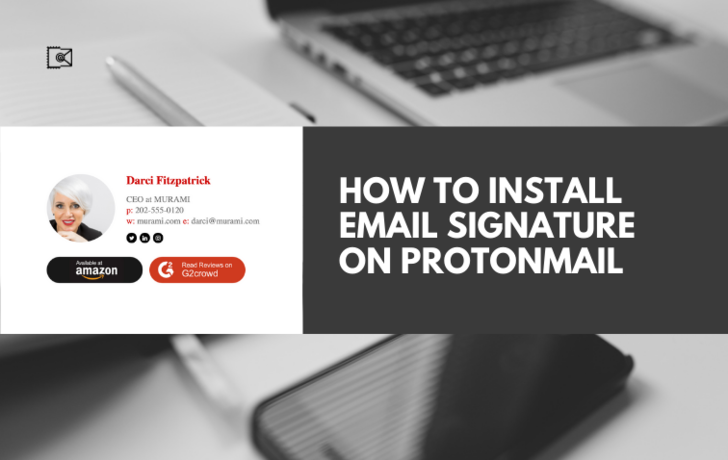 How to Install Email Signature on ProtonMail?