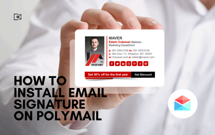 How to install Email Signature on Polymail?
