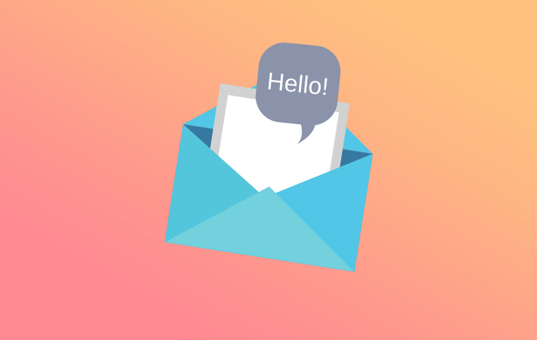 How to write a hello email