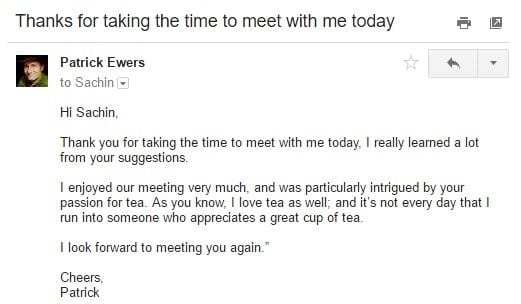 How to Write an Email to a Client after the Meeting NEWOLDSTAMP