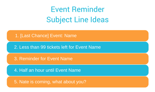 Event Reminder Email Subject Line