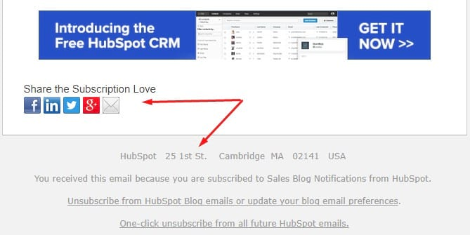 email footer example