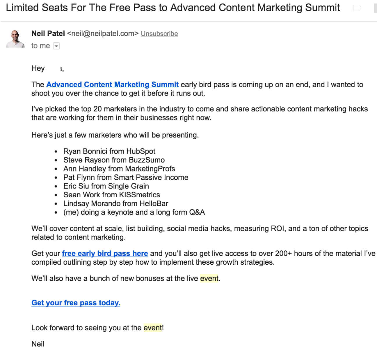 7 Real Examples Of Event Invitation Emails