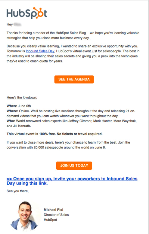 7 real examples of event invitation emails newoldstamp event invitation email maxwellsz